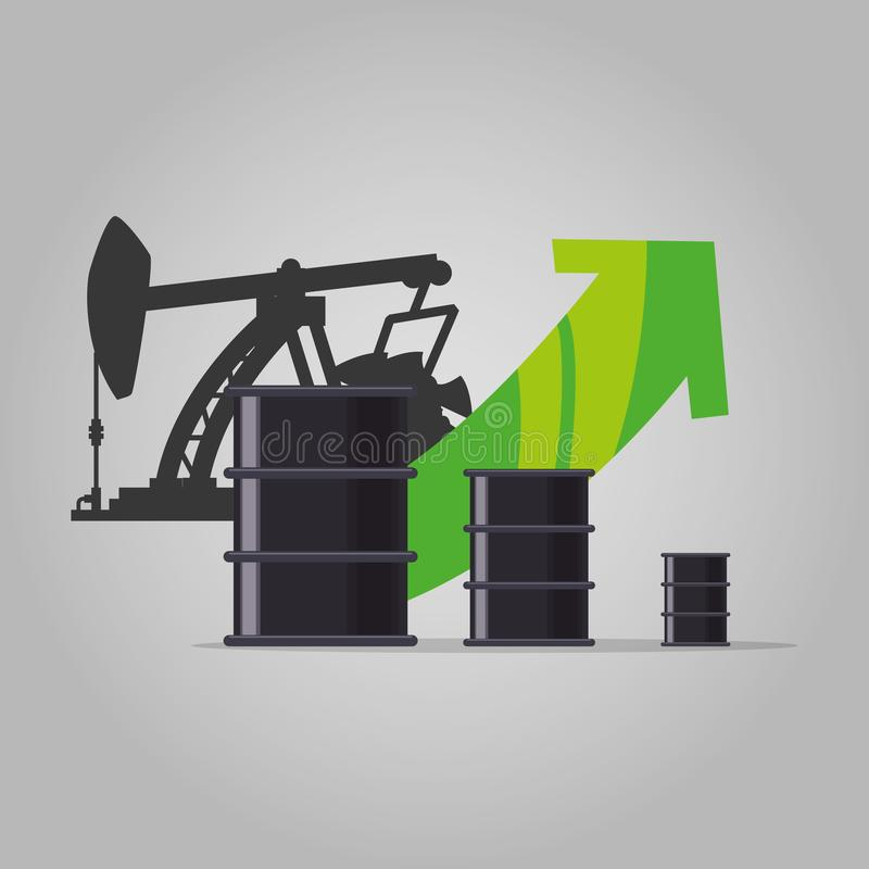 Oil and petroleum industry. Icon vector illustration graphic design vector illustration