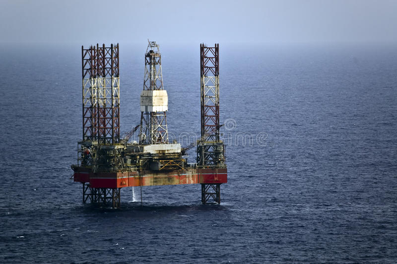 Oil_platform stock afbeeldingen