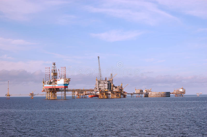 Download Oil Platforms In North Sea Stock Photography - Image: 11292212