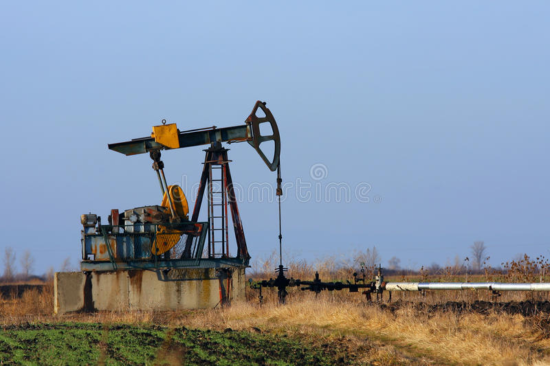 Oil Pump Royalty Free Stock Image