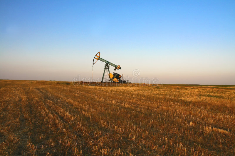 Oil pump royalty free stock photography