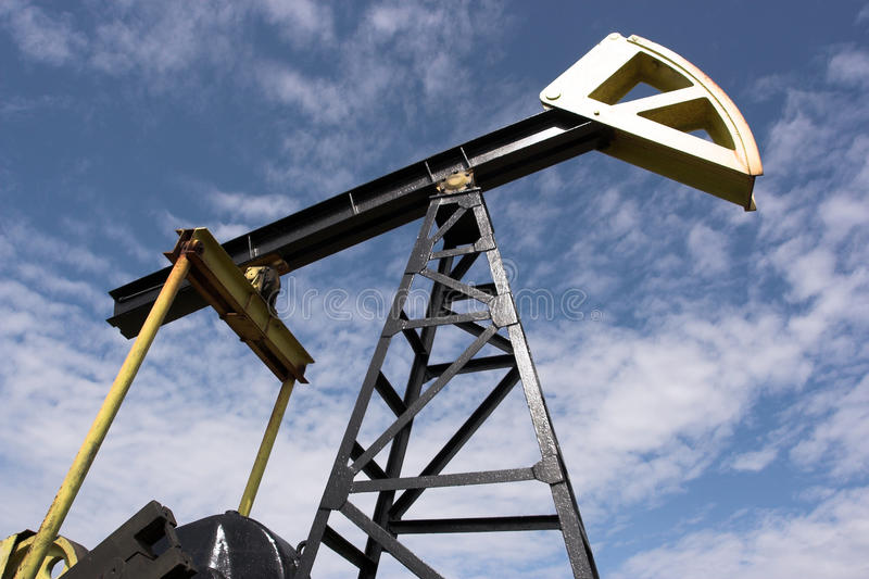 Download Oil pump jack stock image. Image of facility, diesel - 14529487