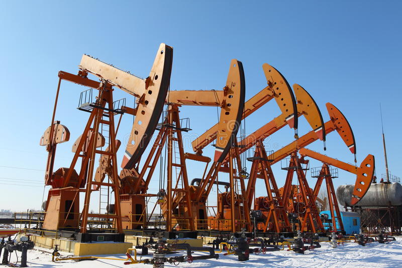 Download Oil Pump Jack stock photo. Image of pipeline, extracting - 25324374