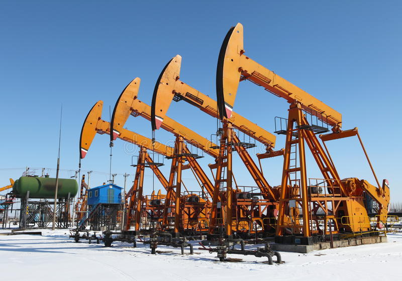 Download Oil Pump Jack stock image. Image of petroleum, pipeline - 25324465