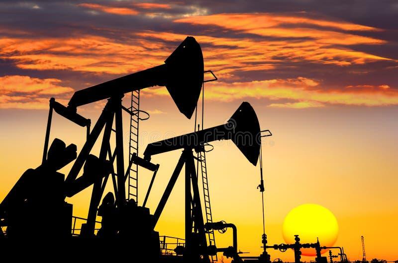 Download Oil pumps stock photo. Image of platform, up, industrial - 26961062