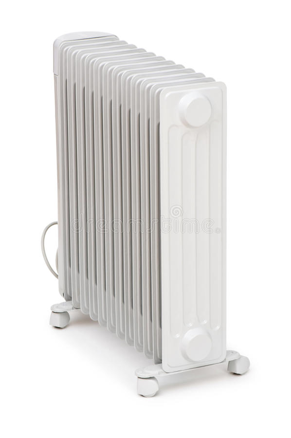 Oil Radiator Isolated Royalty Free Stock Image