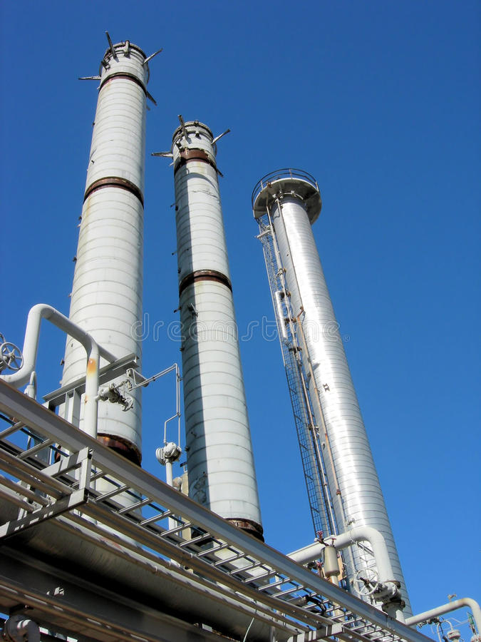 Free Oil Refinery Royalty Free Stock Photos - 12756518