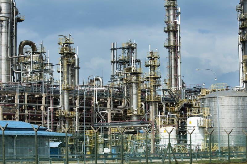 Oil refinery. In Malaysia, Asia stock photos