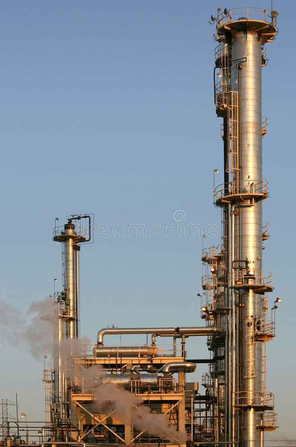 Oil Refinery #2 royalty free stock photo
