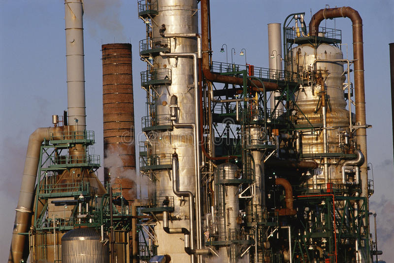 Download Oil Refinery Royalty Free Stock Photo - Image: 23161845