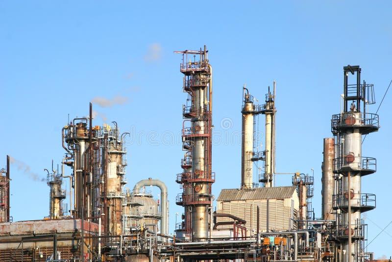 oil refinery στοκ εικόνες