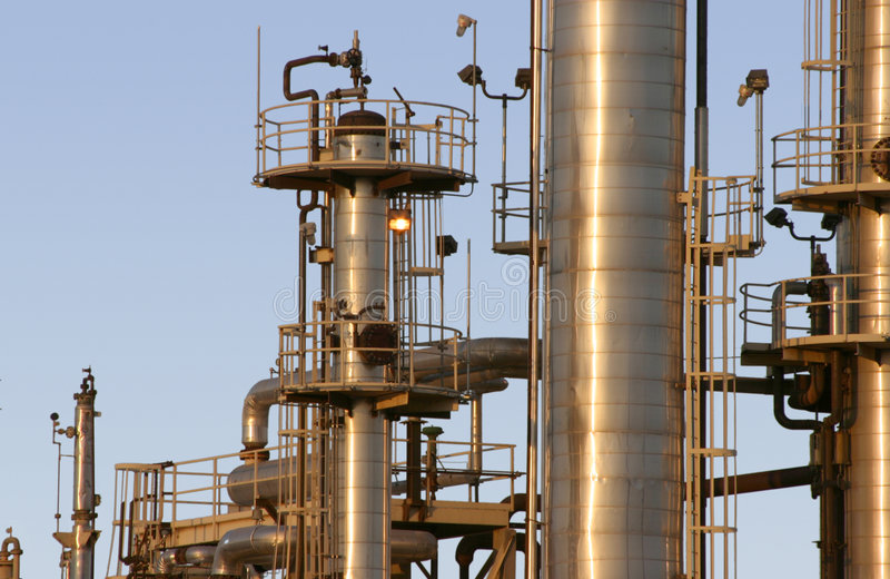 Download Oil Refinery #5 stock photo. Image of vapour, industrial - 459442