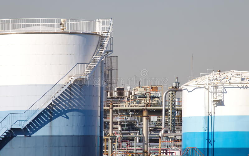Download Oil Refinery factory stock photo. Image of engineering - 35539616