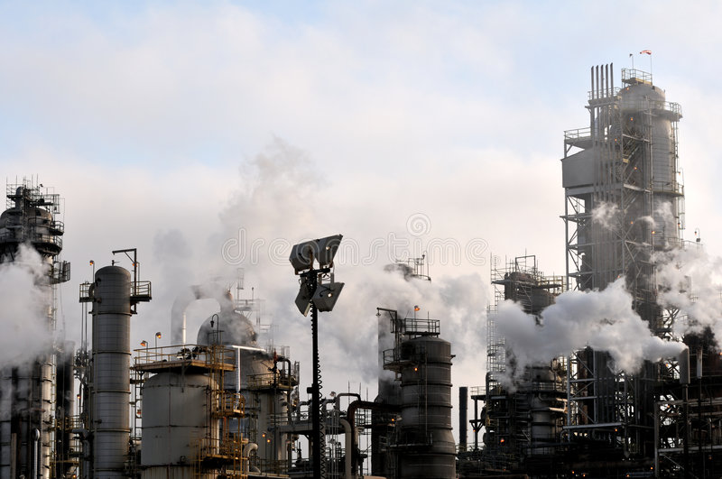 Download Oil Refinery II Stock Photo - Image: 5580860