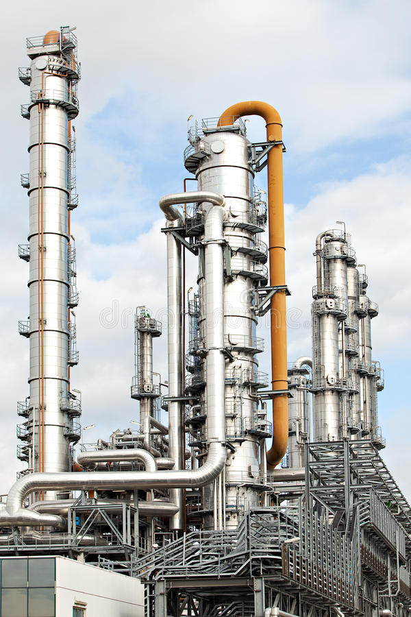 Download Oil Refinery Petroleum Industry Pipelines Stock Photo - Image: 11464580