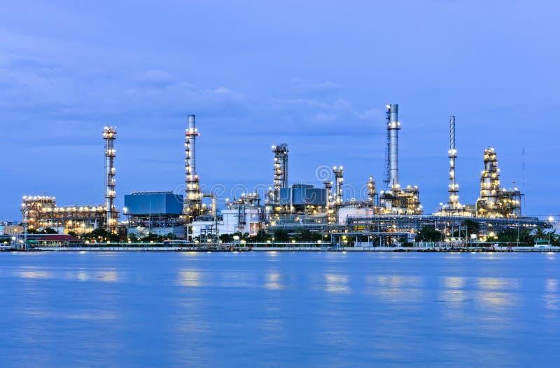 Download Oil refinery plant stock photo. Image of bangkok, illuminated - 33786274