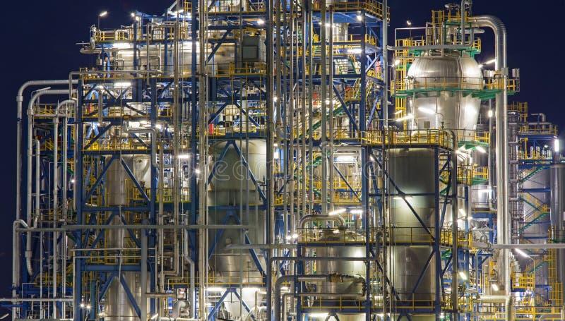 Oil refinery Schwechat in Austria stock images