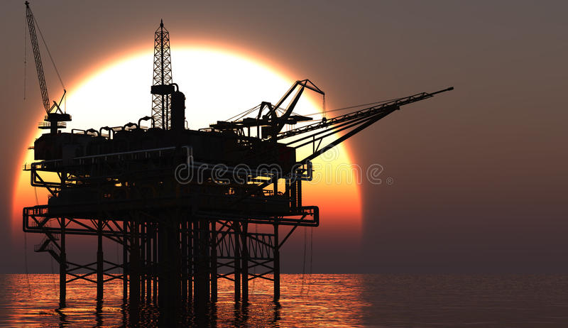 Download Oil Rig Stock Photo - Image: 23943770