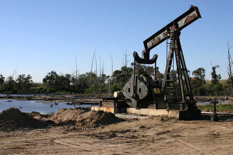 Download Oil Rig stock image. Image of ocean, environment, reclaim - 458271