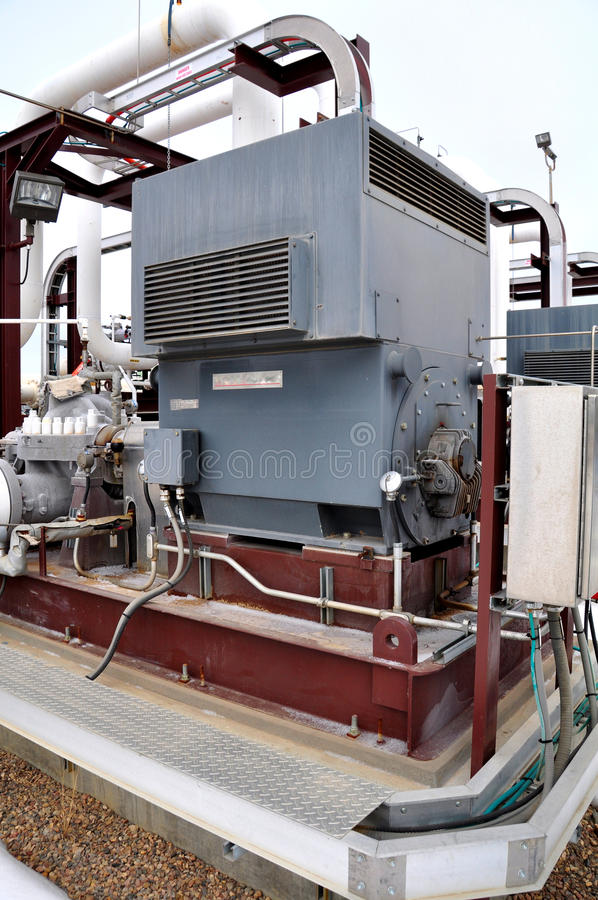 Download Oil sands pump facilities stock image. Image of energy - 24163265