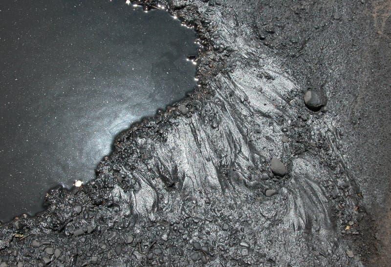 Oil Slick stock image