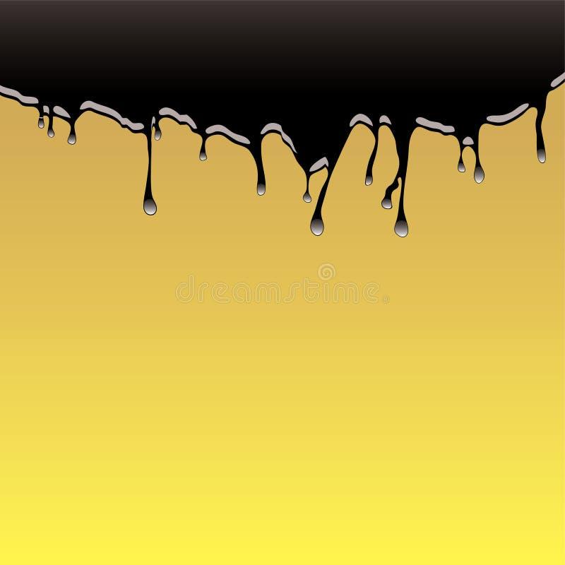 Oil spill background vector illustration