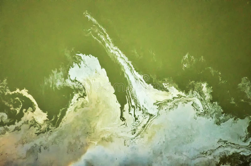 Oil stain royalty free stock photography