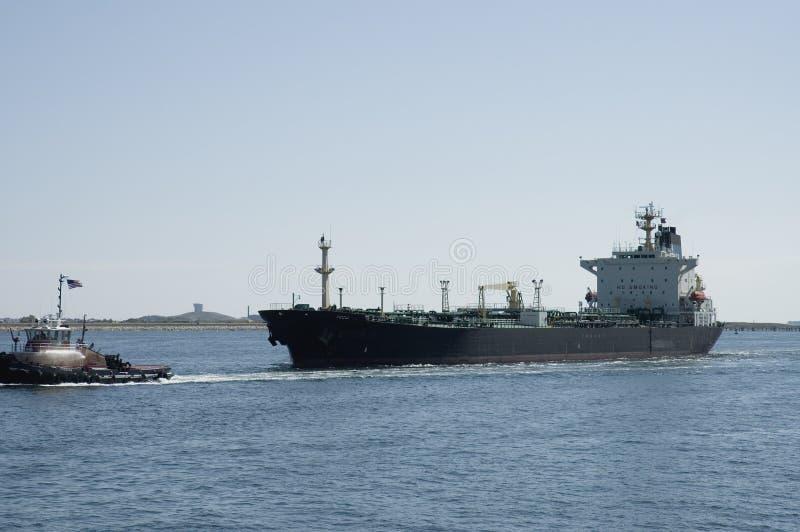 Oil tanker royalty free stock image