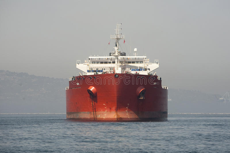 Oil Tanker Front royalty free stock photos