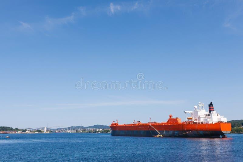 Oil tanker vessel royalty free stock images