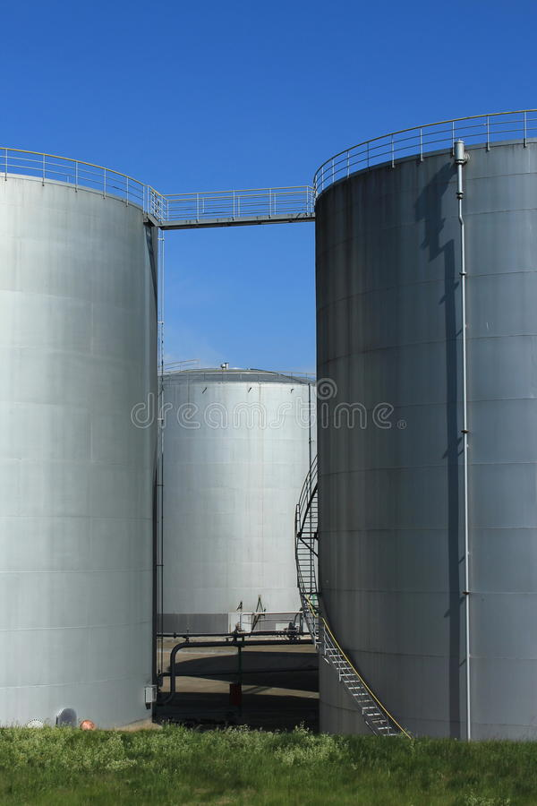 Download Oil tanks stock image. Image of industrial, container - 21507003