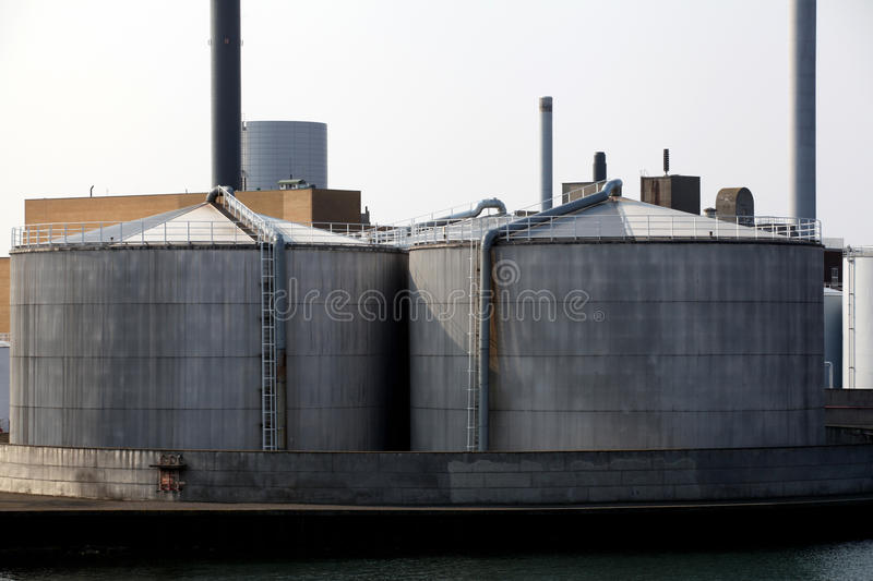 Download Oil tanks for fuel storage stock photo. Image of site - 39282604