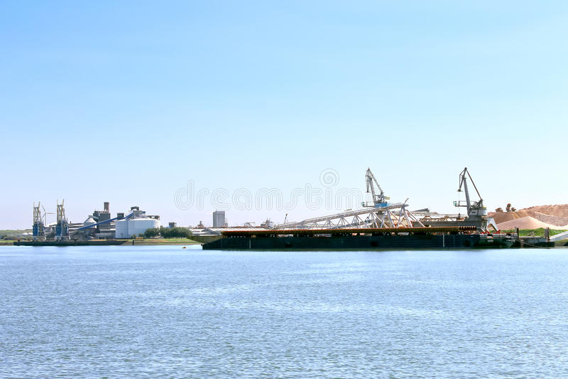 Download Oil Terminal In The Dutch Port. Stock Image - Image: 26566021