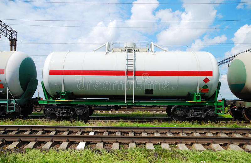 Download Oil Transportation In Tanks By Rail Stock Image - Image: 16026517