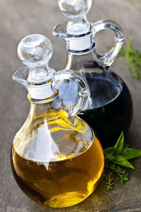 Oil And Vinegar Stock Photo