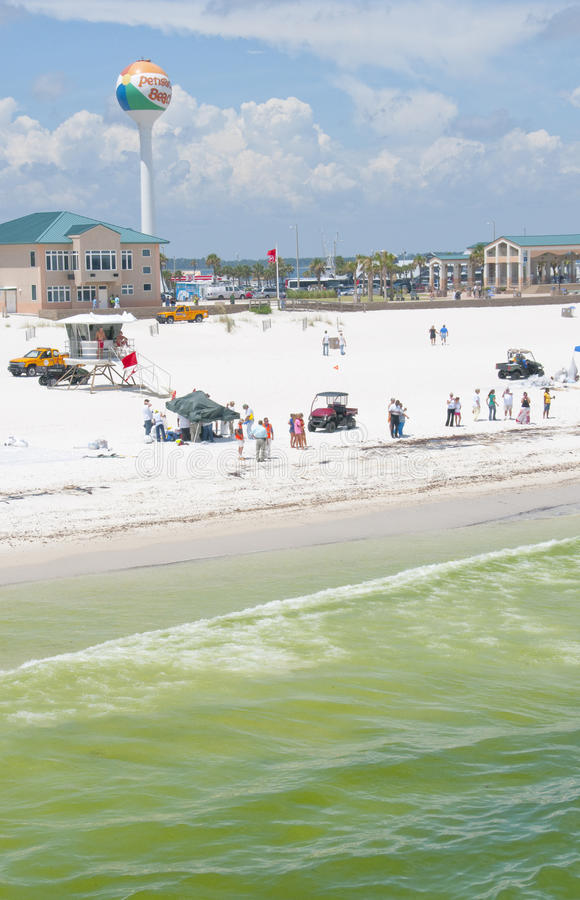 Download Oil Washes Ashore In Pensacola Beach Editorial Photo - Image: 14859996