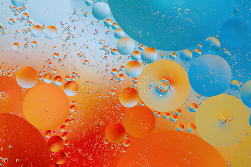 Download Oil and water stock photo. Image of mixed, macro, bubbles - 12566764
