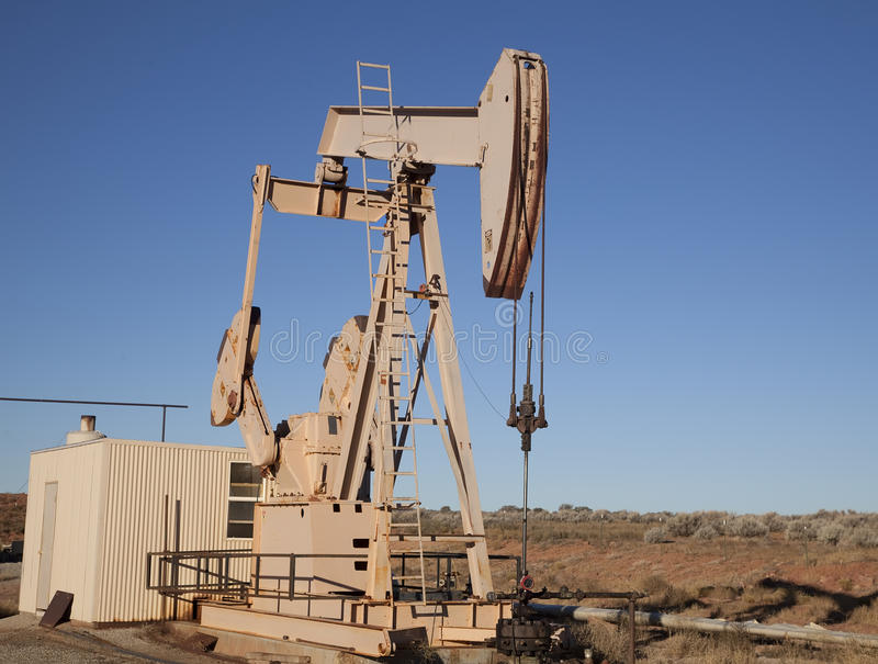 Oil Well royalty free stock photos