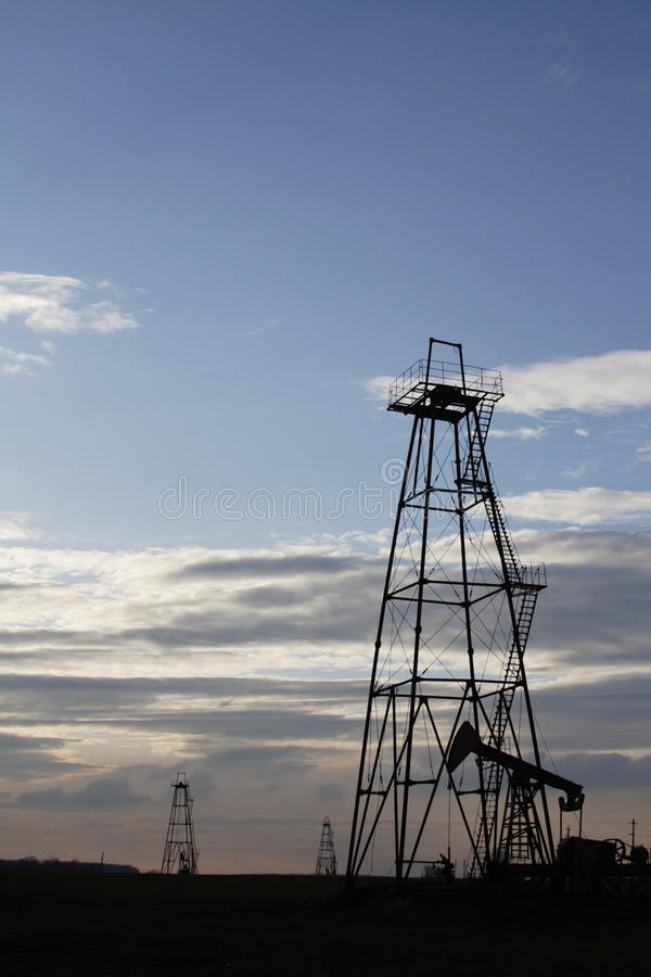 Download Oil well stock image. Image of rural, energy, barrel - 17997875