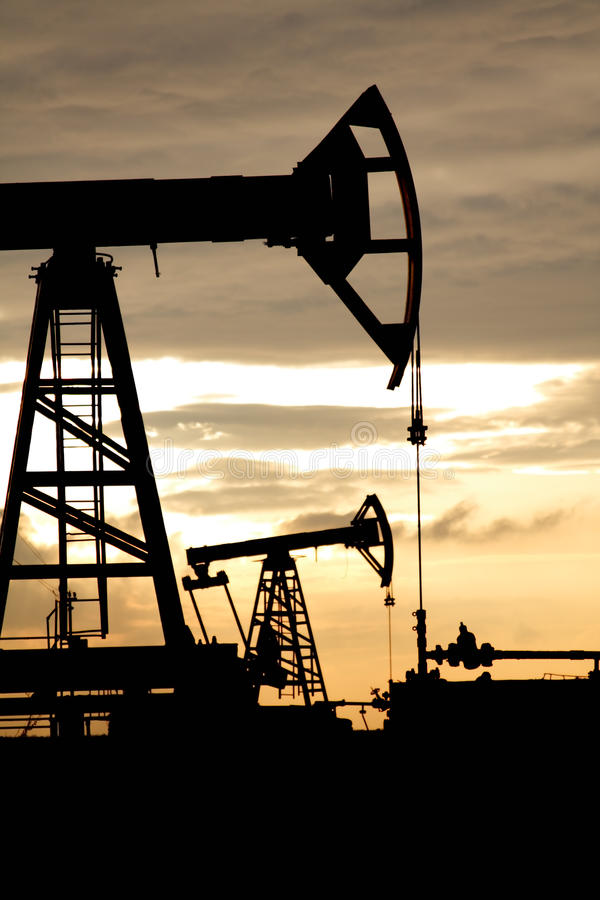 Download Oil well stock photo. Image of natural, conventional, machine - 9917280