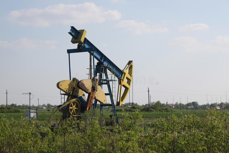Download Oil well stock image. Image of petroleum, business, diesel - 30786795