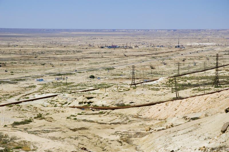 oilfield obrazy royalty free