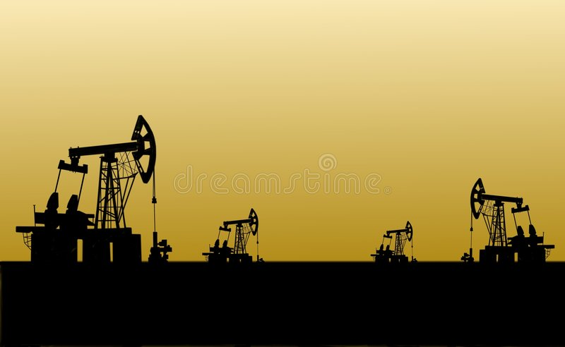 Download Oilfield stock illustration. Illustration of pipe, business - 7689171