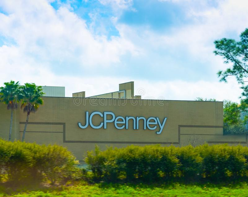 Oin Daytona Beach de magasin de JCPenney image stock