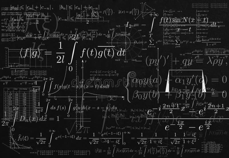 ointaglig matematik royaltyfria bilder