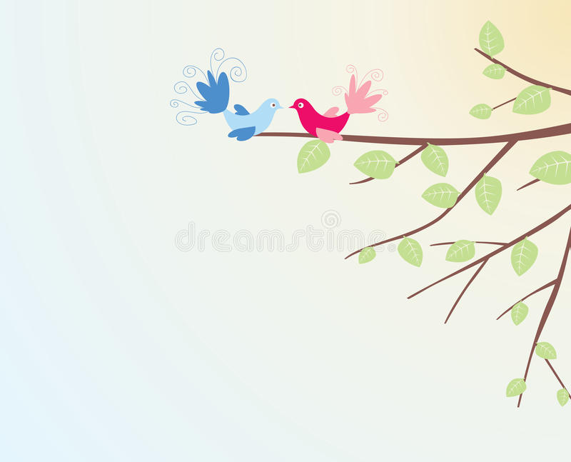 oiseau illustration stock