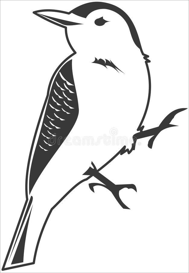 Oiseau illustration de vecteur