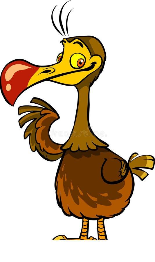 Download Oiseau de dronte illustration de vecteur. Illustration du came - 45368475