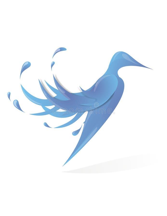 Oiseau de l'eau illustration de vecteur