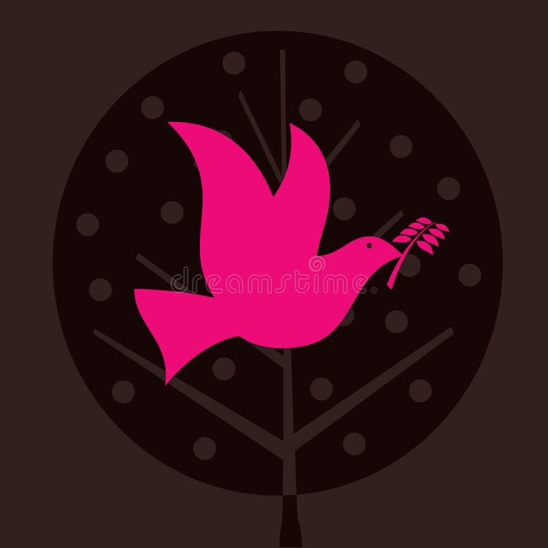 Oiseau de paix illustration libre de droits